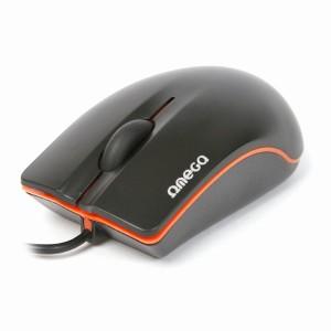 Ποντίκι Omega OM-231 Optical 3D Black+Orange USB