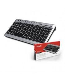 Πληκτρολόγιο HV-KB201 Havit Mini Multimedia USB Silver/Blac