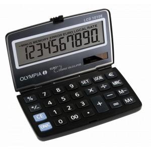 Αριθμομηχανή Olympia LCD-1010E Μαύρη