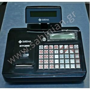 SAREMA STORE ταμειακή μηχανή
